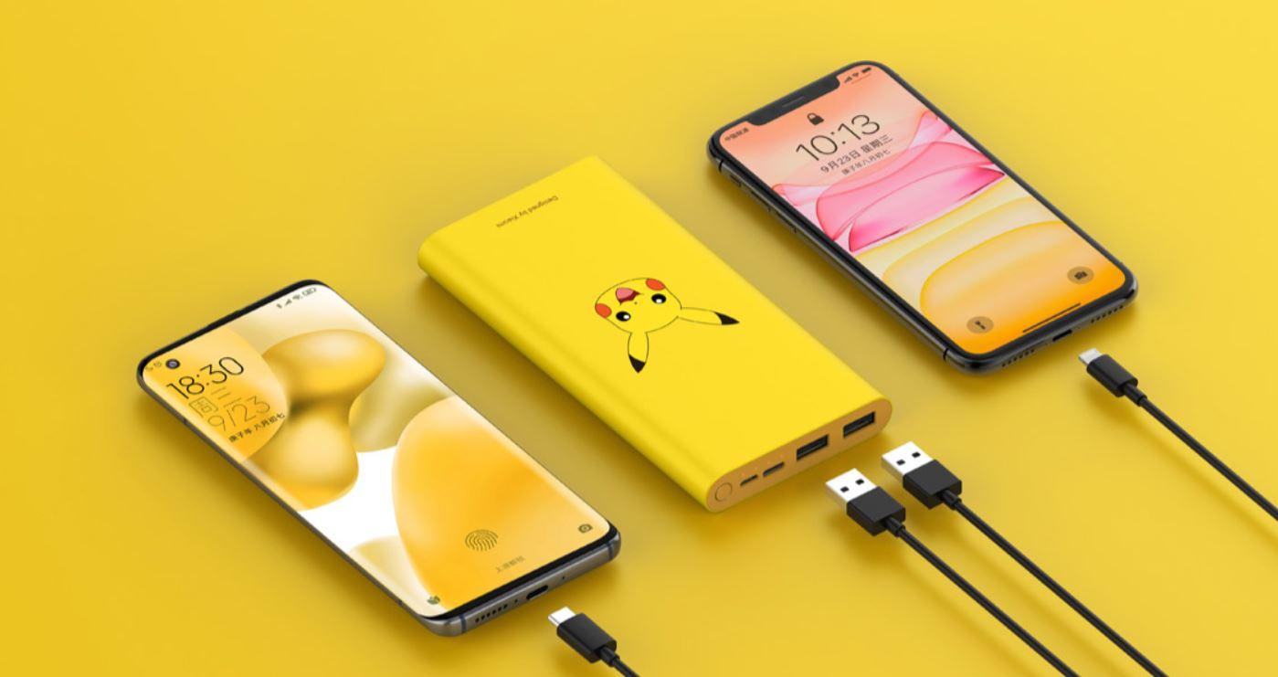 Nueva Xiaomi Mi Power Bank 3 Pikachu Edition, la power bank ideal para los fans de Pokémon. Noticias Xiaomi Adictos
