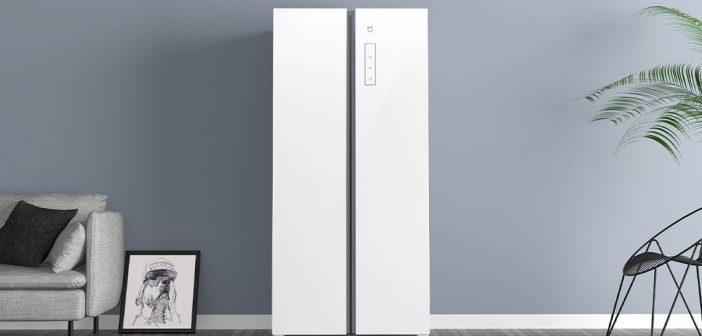 Xiaomi ahora también cuenta con un frigorífico estilo americano en color blanco. Noticias Xiaomi Adictos