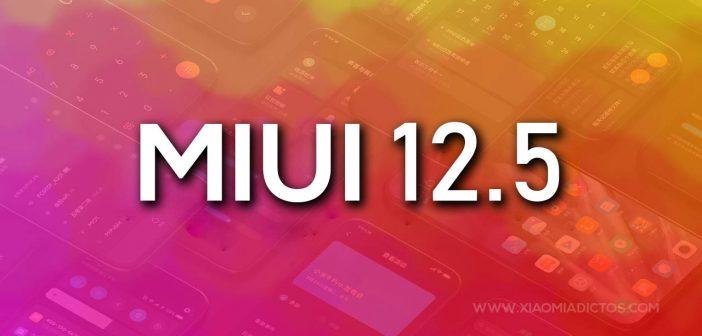 MIUI 12.5 novedades, fecha de lanzamiento y smartphones como el Redmi Note 8 compatibles. Noticias Xiaomi Adictos