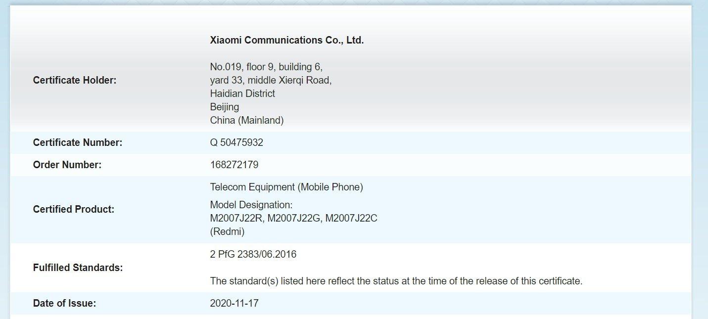 Redmi Note 9T vuelve a dar señales de vida pronosticando un lanzamiento inminente. Noticias Xiaomi Adictos
