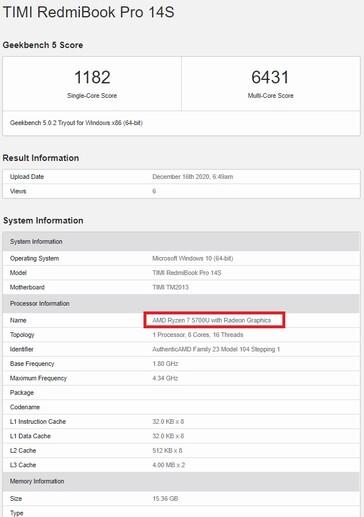 RedmiBook Pro 14S, el mejor portátil de Xiaomi se prepara con lo último de AMD Ryzen. Noticias Xiaomi Adictos