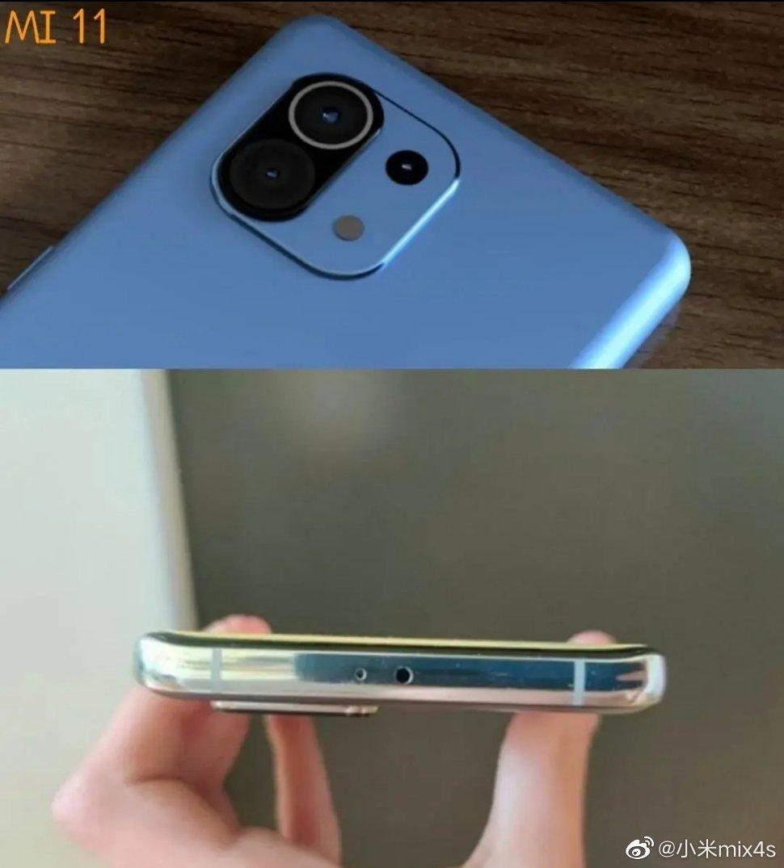 Estas serían las primeras imágenes del Xiaomi Mi 11 junto a su inusual cámara. Noticias Xiaomi Adictos