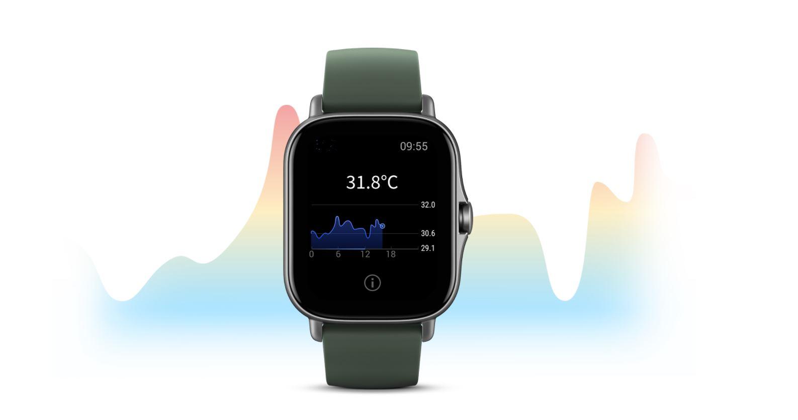 Los nuevos Amazfit GTS 2e y GTR 2e ya son oficiales y miden la temperatura corporal. Noticias Xiaomi Adictos