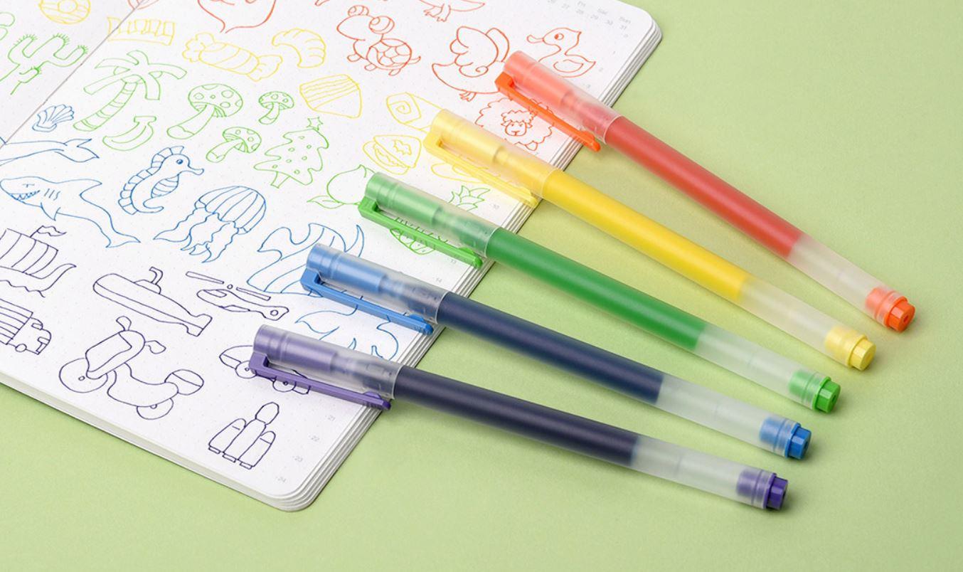 Estos bolígrafos de colores son de Xiaomi y prometen durar más de lo que imaginas. Noticias Xiaomi Adictos