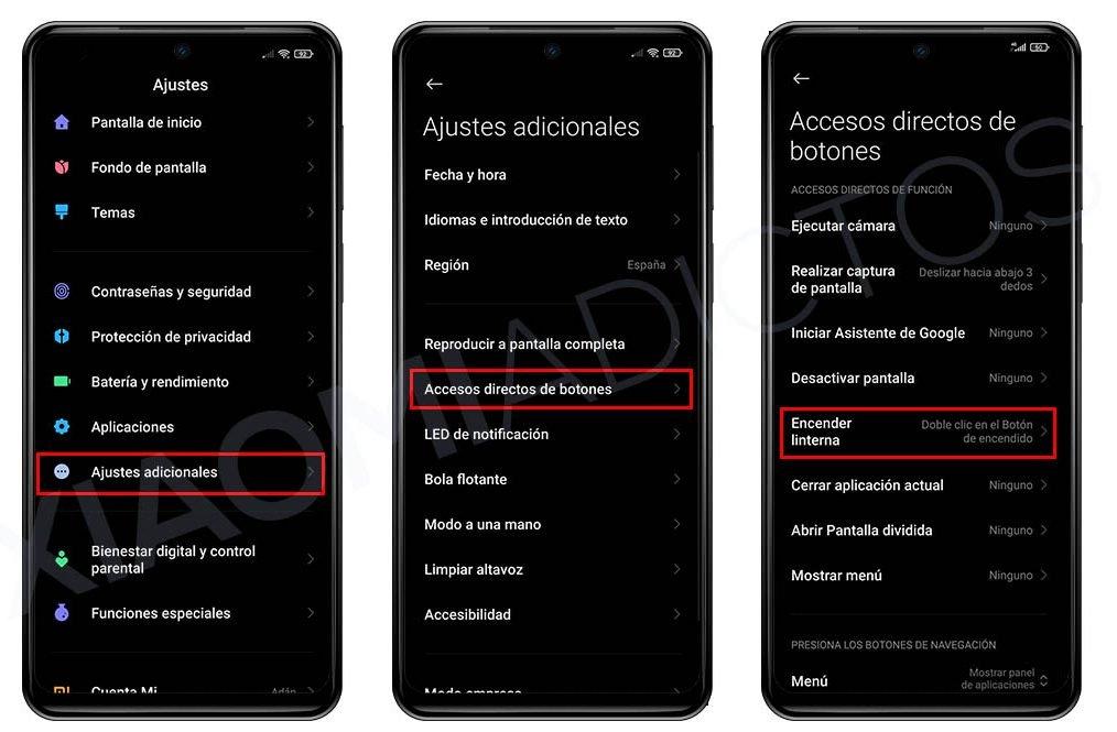 Cuatro trucos para MIUI que sin duda deberías probar en tu Xiaomi. Noticias Xiaomi Adictos