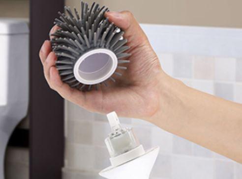 Esta escobilla de inodoro que vende Xiaomi se desinfecta sola y gira para una mejor limpieza. Noticias Xiaomi Adictos