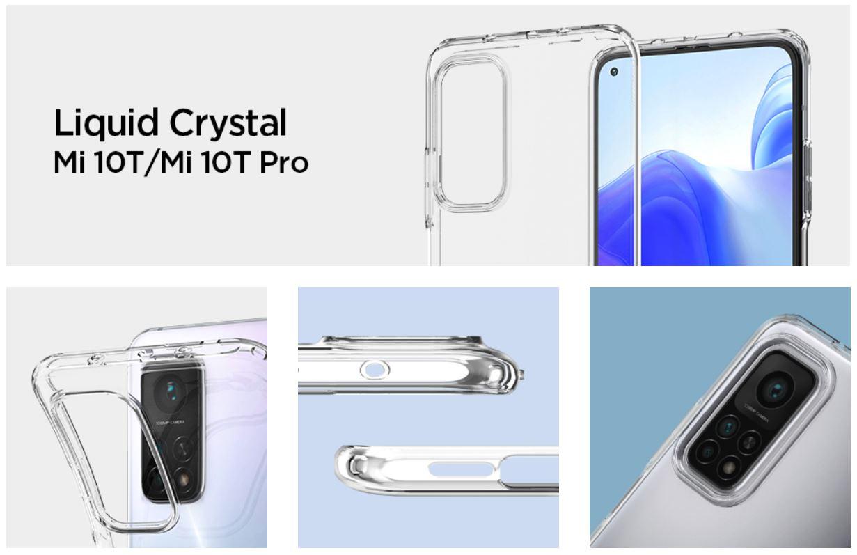 mejor funda Spigen transparente para los Xiaomi Mi 10T y Mi 10T Pro. Noticias Xiaomi Adictos