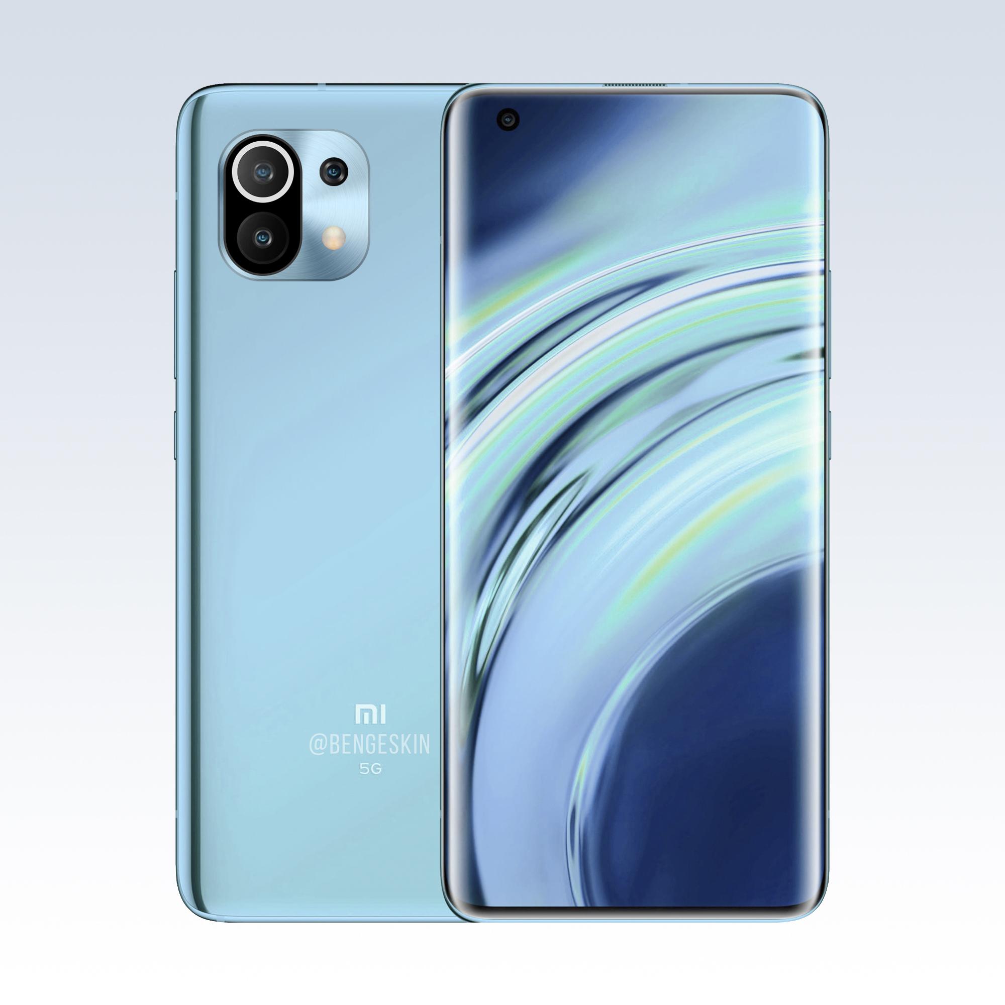 Así luciría el Xiaomi Mi 11 si tenemos en cuenta todos los rumores. Noticias Xiaomi Adictos