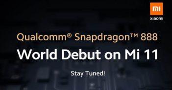 Xiaomi anuncia su nuevo Xiaomi Mi 11: el primero en hacer uso del Snapdragon 888. Noticias Xiaomi Adictos
