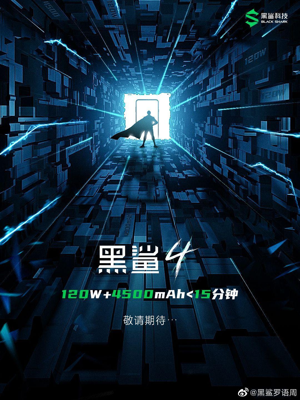 La batería del próximo Black Shark 4 se cargará en menos de 15 minutos. Noticias Xiaomi Adictos