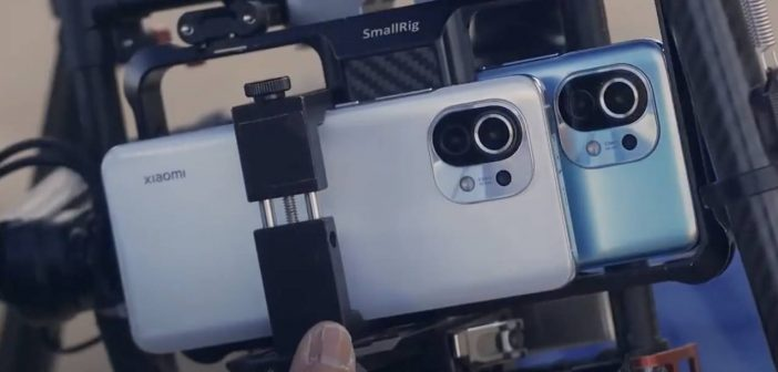 Este espectacular vídeo ha sido grabado con dos Xiaomi Mi 11 acoplados a un drone. Noticias Xiaomi Adictos