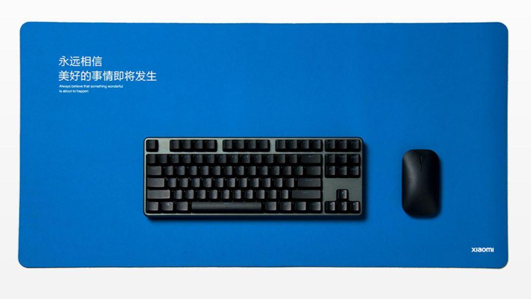 Xiaomi tiene una nueva alfombrilla para teclado y ratón totalmente impermeable. Noticias Xiaomi Adictos