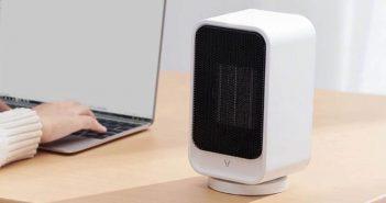 Este pequeño calefactor de sobremesa que vende Xiaomi es ideal para tu escritorio o mesa de trabajo. Noticias Xiaomi Adictos