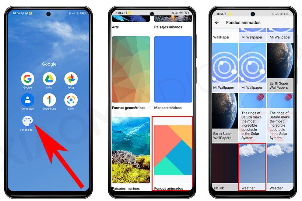 Tiempo, un nuevo Super Wallpaper para tu Xiaomi que ya puedes descargar. Noticias Xiaomi Adictos