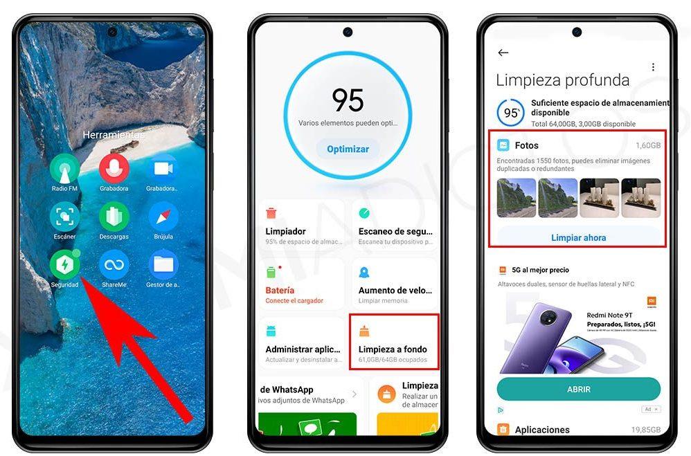 Así puedes liberar espacio de tu Xiaomi eliminando las fotos duplicadas. Noticias Xiaomi Adictos