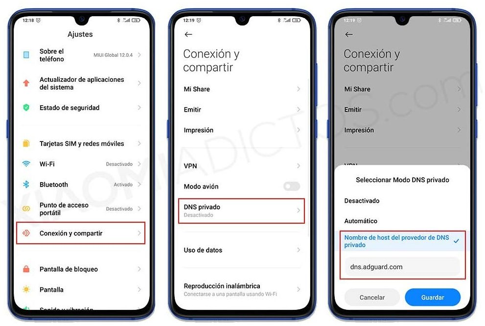 Así puedes mejorar la seguridad y velocidad de acceso a Internet en tu Xiaomi. Noticias Xiaomi Adictos