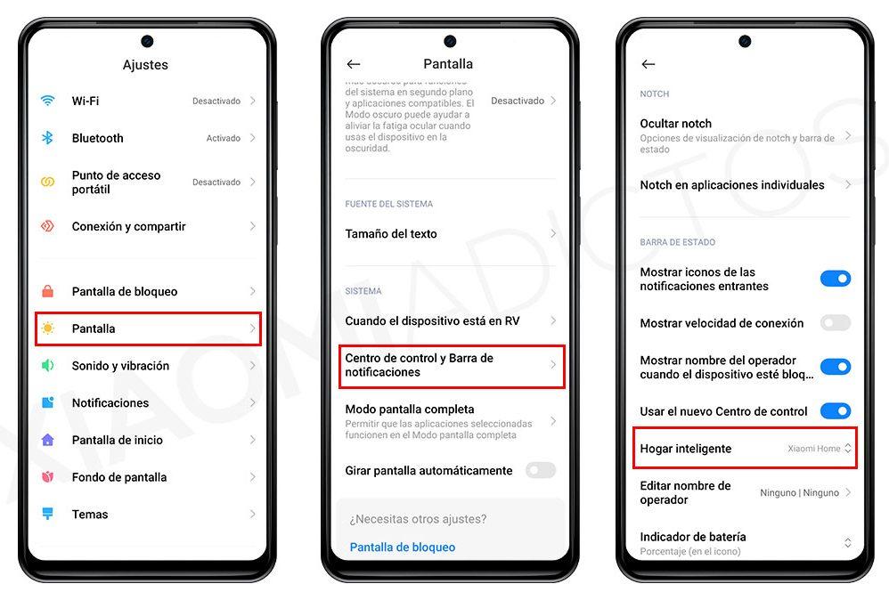 Gestionar Google Home desde el Centro de Control de MIUI 12 es posible gracias a Android 11. Noticias Xiaomi Adictos