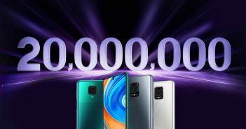 La Serie Redmi Note 9 de Xiaomi acumula más de 20 millones de unidades vendidas. Noticias Xiaomi Adictos