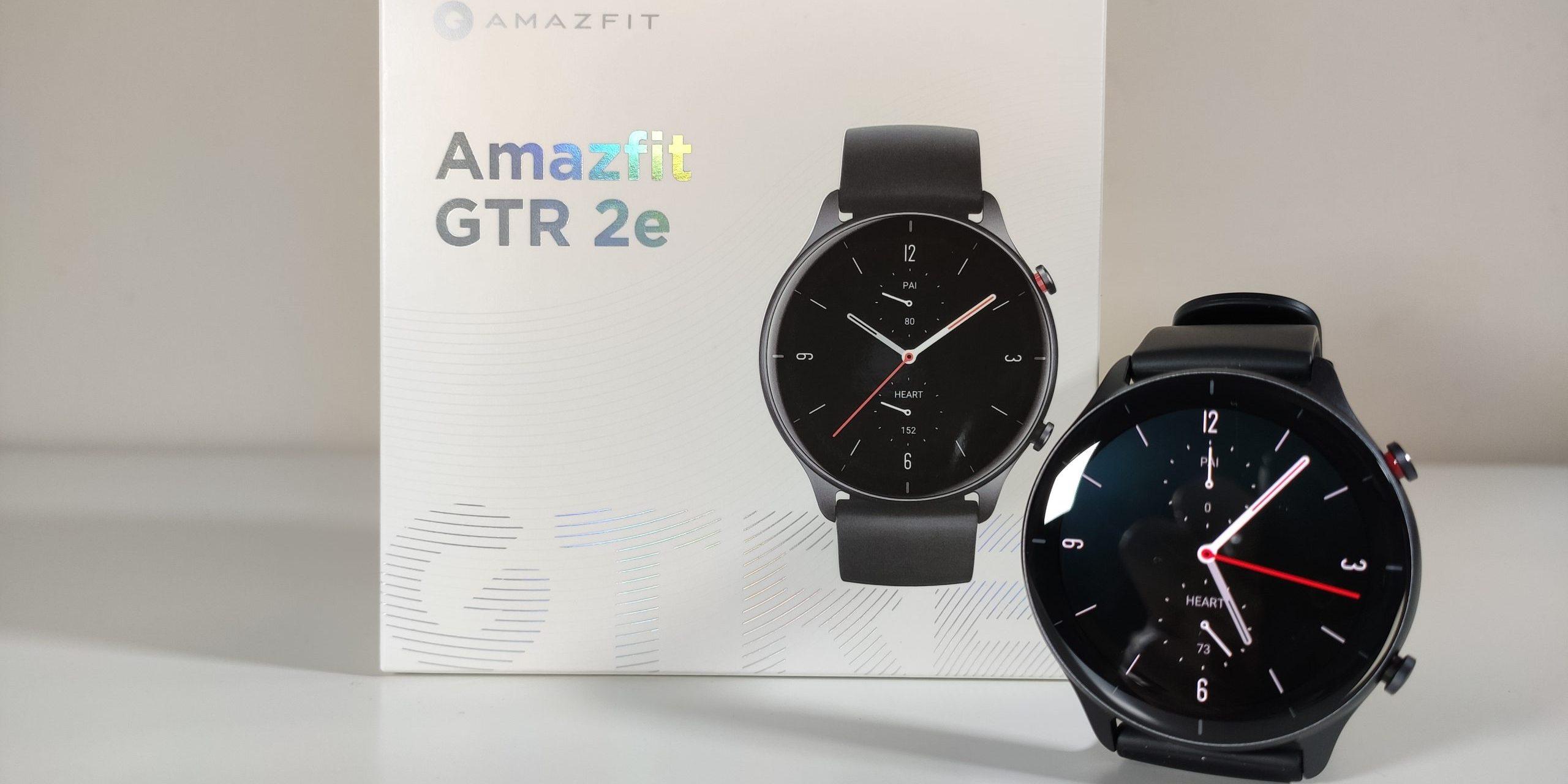 Unboxing y primeras impresiones del nuevo Amazfit GTR 2e. Noticias Xiaomi Adictos