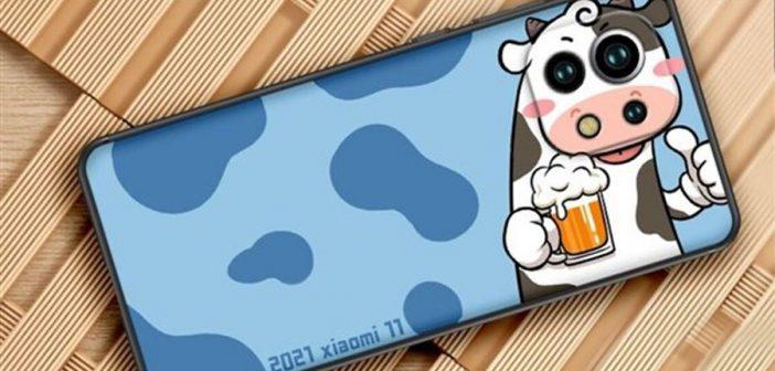 Xiaomi planea lanzar su propia funda para el Mi 11 con el diseño de la cara de vaca. Noticias Xiaomi Adictos