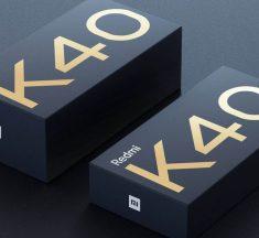 Esta es la caja del nuevo Xiaomi Redmi K40 y el cargador también será opcional