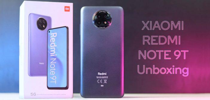Este es el uevo Redmi Note 9T: su primer unboxing se filtra antes de su presentación. Noticias Xiaomi Adictos