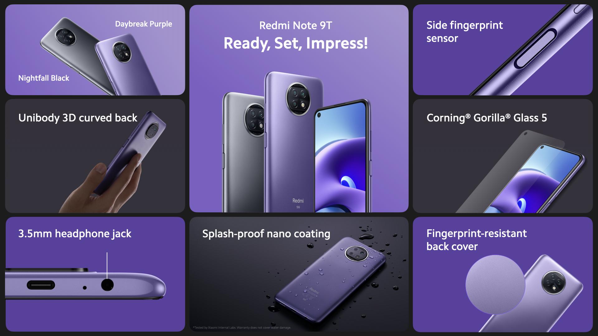 Xiaomi Redmi Note 9T 5G, características, precio, fecha de lanzamiento. Noticias Xiaomi Adictos