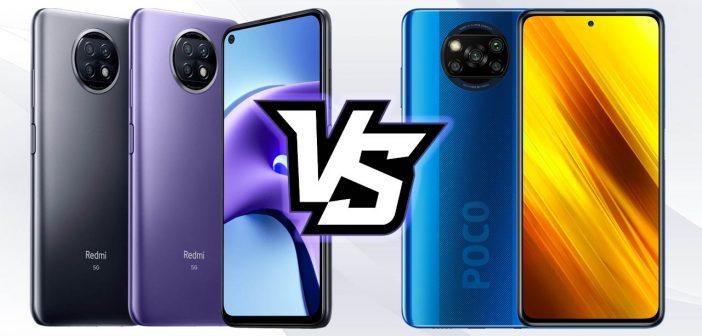 Redmi Note 9T vs POCO X3 NFC: principales diferencias y cuál deberías comprar. Noticias Xiaomi Adictos