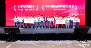 Dos de las últimas tecnologías de Xiaomi han ganado el Million Dollar Technology Award 2020. Noticias Xiaomi Adictos