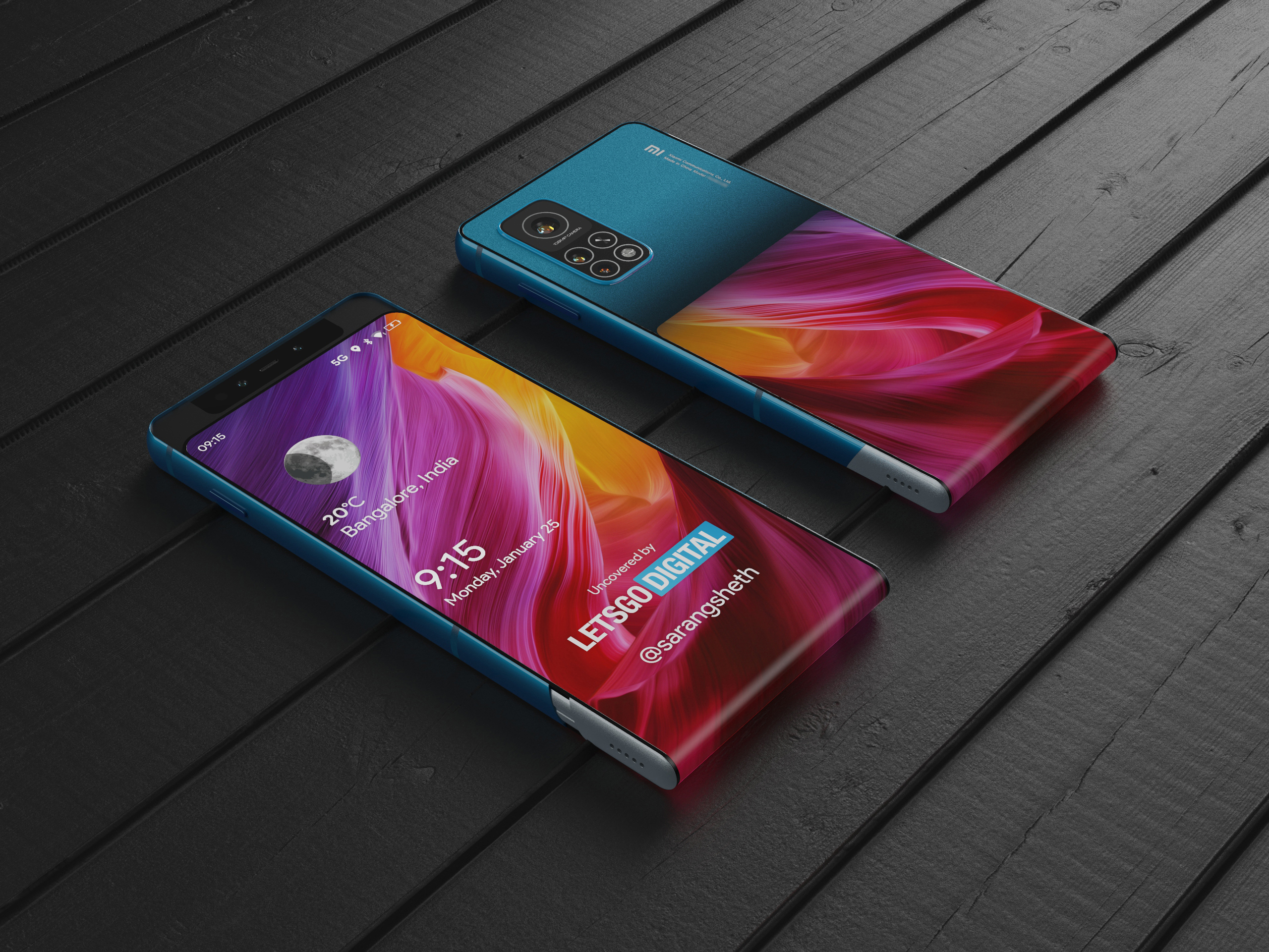 Un smartphone deslizante con pantalla envolvente, así es la última idea de Xiaomi. Noticias Xiaomi Adictos