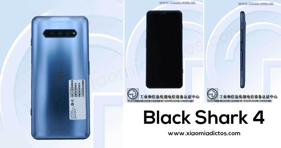 El Black Shark 4 se certifica en TENAA mostrándonos su diseño. Noticias Xiaomi Adictos