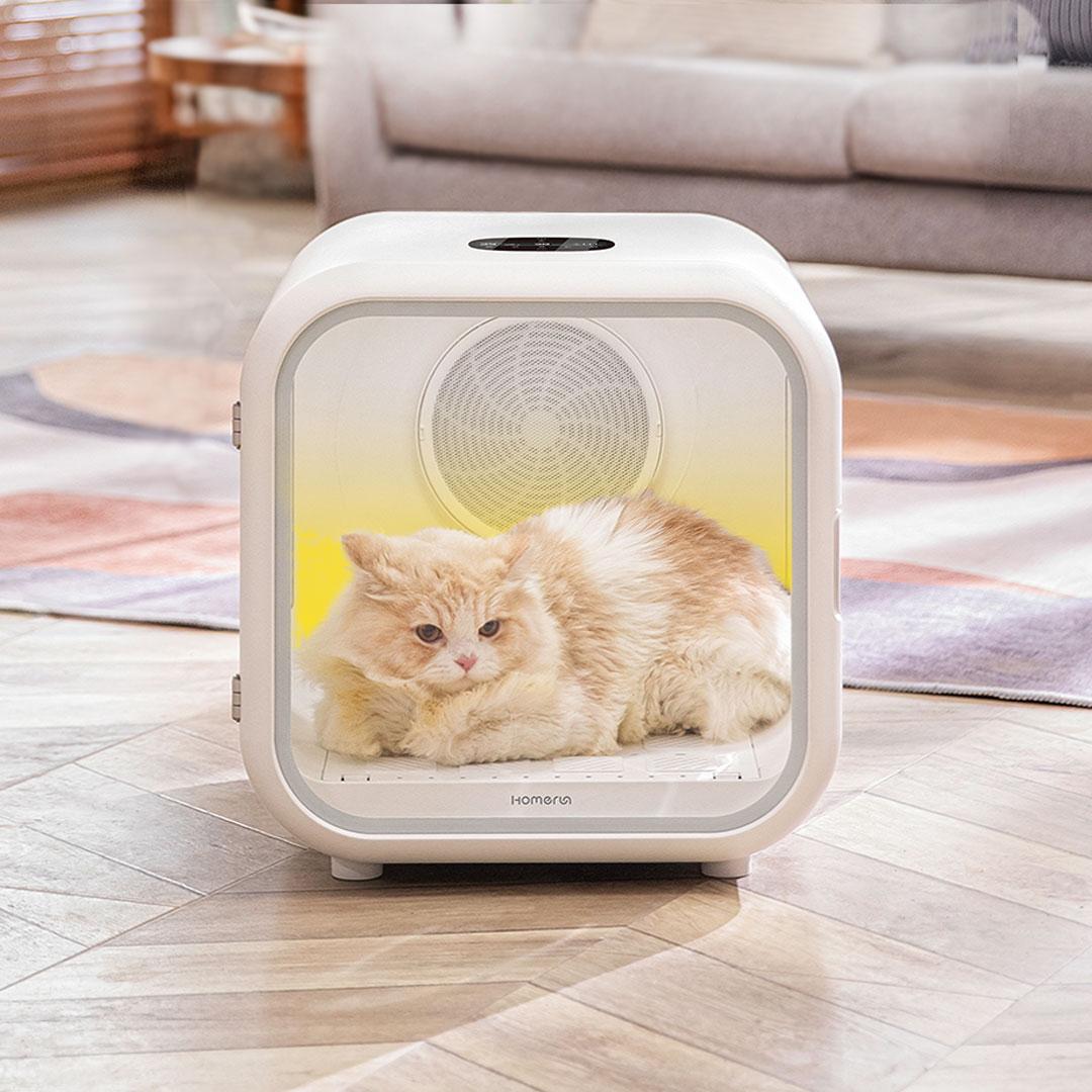 Xiaomi pone a la venta una práctica cabina de secado para tu gato o perro. Noticias Xiaomi Adictos