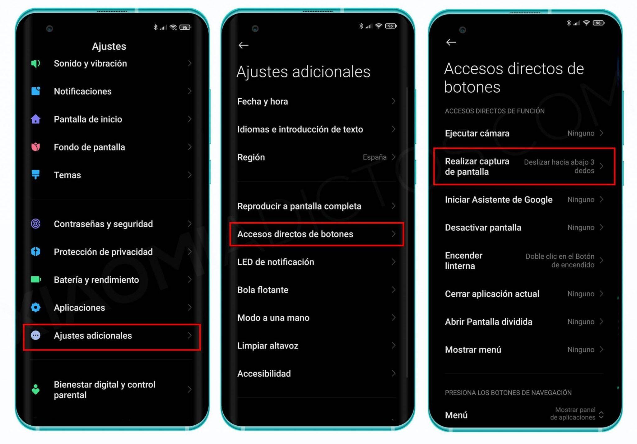 Siete formas distintas de sacar una captura de pantalla en tu Xiaomi. Noticias Xiaomi Adictos