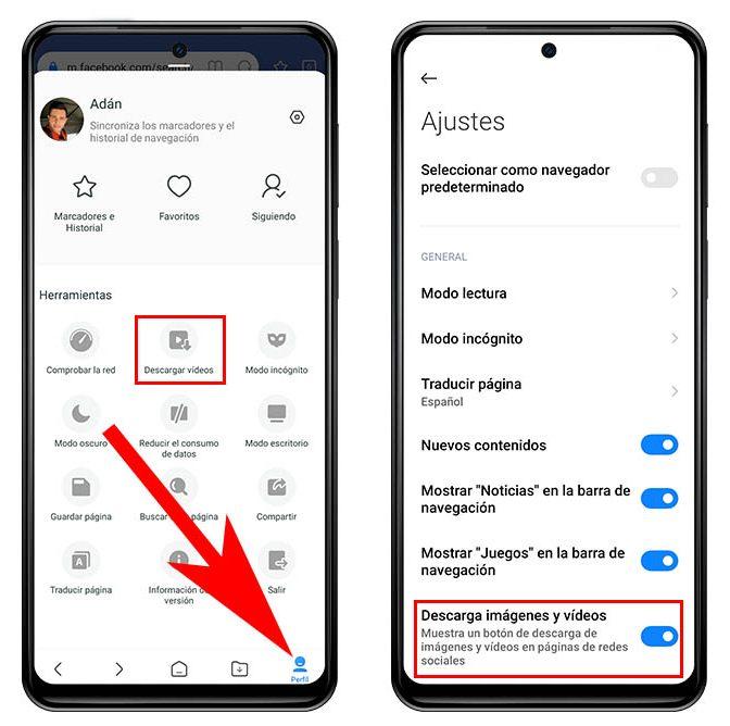 Descargar vídeos de Facebook, Instagram o Twitter desde un Xiaomi. noticias Xiaomi Adictos