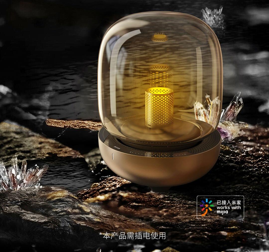 این لامپ چشمگیر که شیائومی به فروش رسانده است دارای بلندگو و هوشمند است.  اخبار Xiaomi A