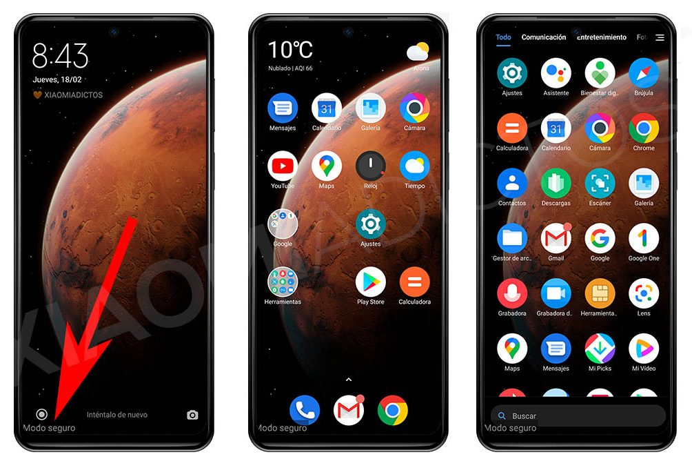 What is the Safe Mode of your Xiaomi, what is it for and how can you activate it
