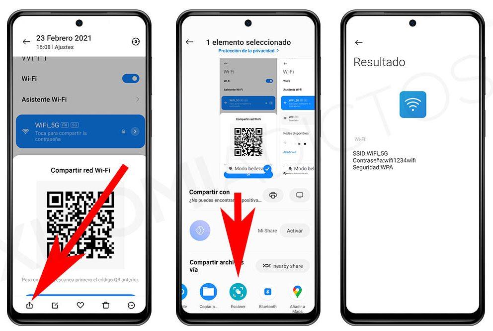 Este truco te permite mostrar la clave de las WiFi guardadas en tu Xiaomi. Noticias Xiaomi A