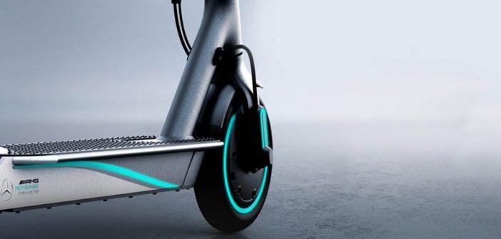 """Así de llamativo luce el nuevo scooter eléctrico de Xiaomi """"Mercedes-AMG"""". Noticias Xiaomi Adictos"""