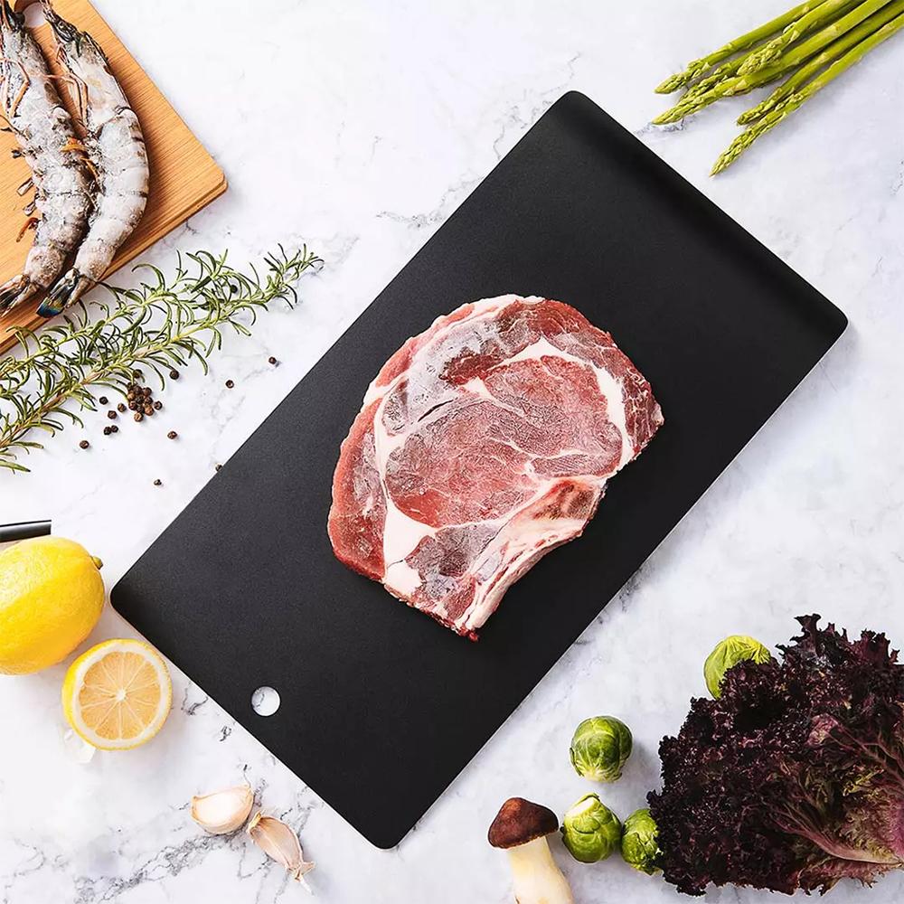 Esta tabla que vende Xiaomi acelera la descongelación de carne y otros alimentos. Noticias Xiaomi Adictos
