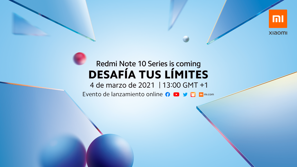 Xiaomi presentará sus nuevos Redmi Note 10 este 4 de marzo en España. Noticias Xiaomi Adictos