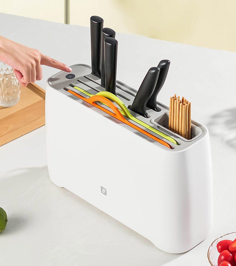 Xiaomi pone a la venta un nuevo secador de cuchillos y cubiertos inteligente. Noticias Xiaomi Adictos