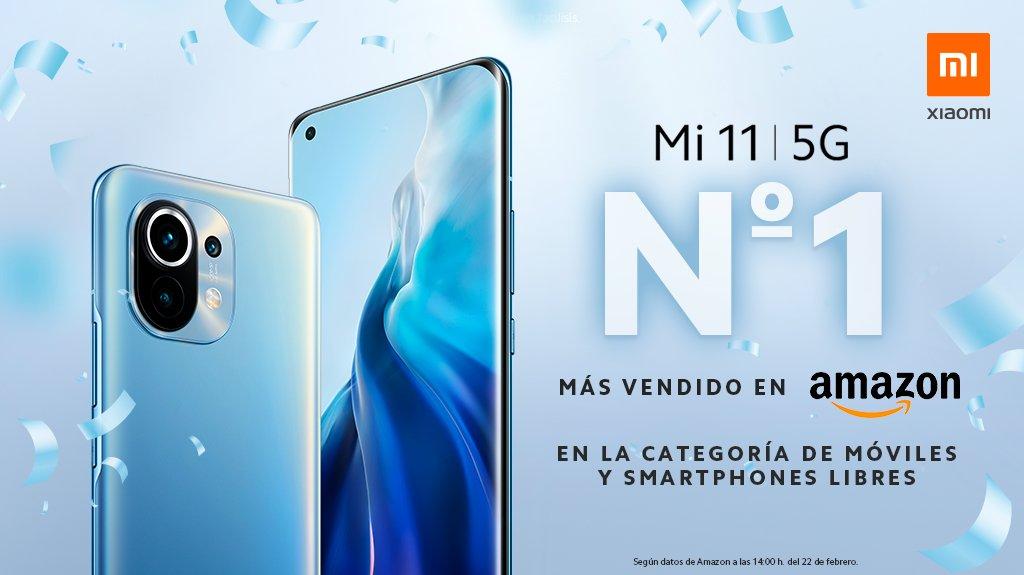 El Xiaomi Mi 11 consigue agotar todas sus unidades en su primer día a la venta. Noticias Xiaomi A