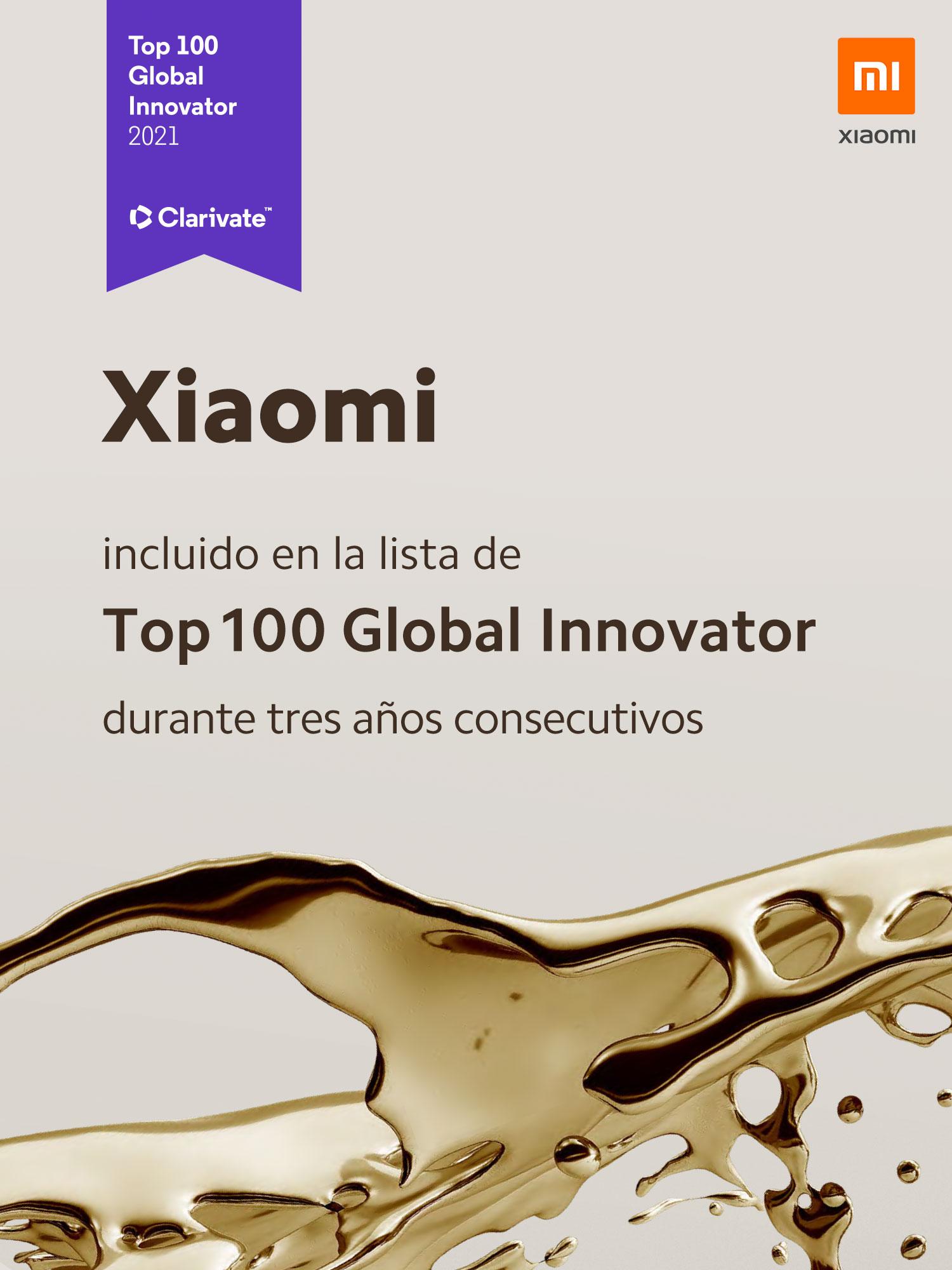 Por tercera vez Xiaomi es incluida en el Top 100 Global Innovator. Noticias Xiaomi Adictos