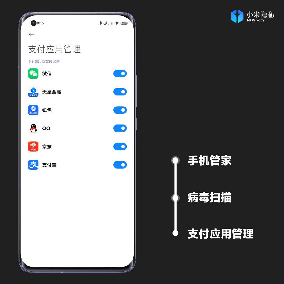 MIUI 12.5 hará que los pagos a través de nuestro Xiaomi sean más seguros. Noticias Xiaomi Adictos