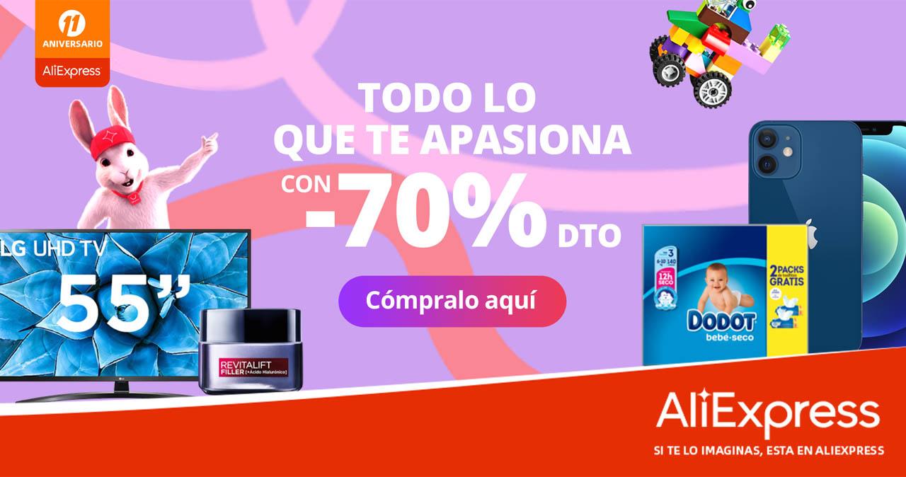 Arranca el 11º Aniversario de AliExpress: los mejores cupones, descuentos y ofertas. Noticias Xiaomi Adictos