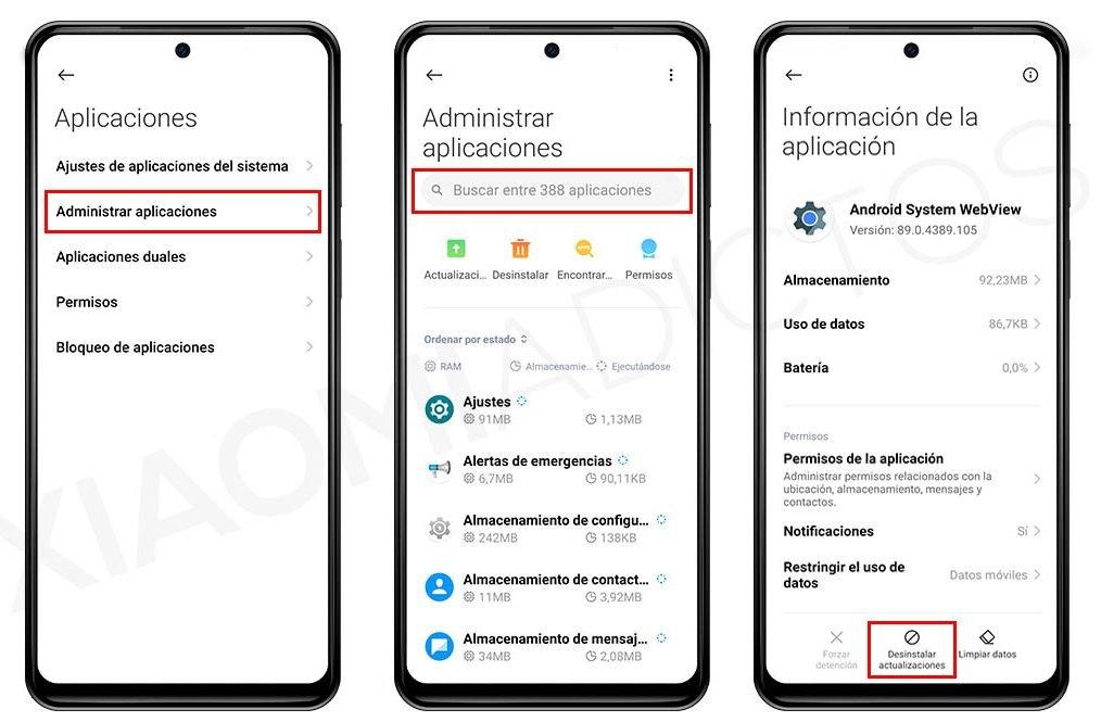 MSA sigue sin funcionar: cómo arreglar este molesto error de tu Xiaomi. Noticias Xiaomi Adictos