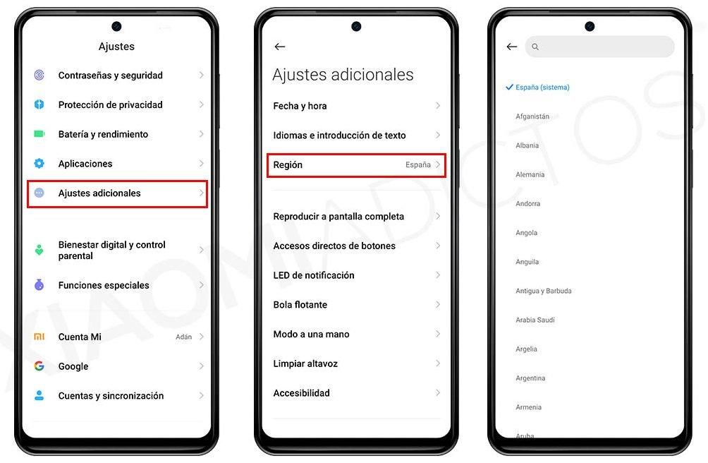 Cómo acceder a todos los temas disponibles par tu Xiaomi sin que de fallo de conexión. Noticias Xiaomi Adictos