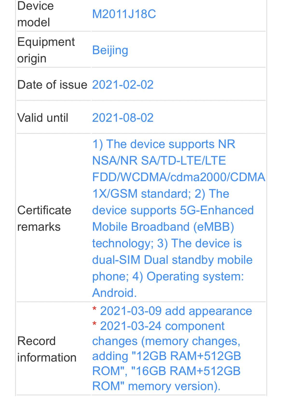 El smartphone plegable de Xiaomi y parte de sus características se dejan ver de nuevo. Noticias Xiaomi A