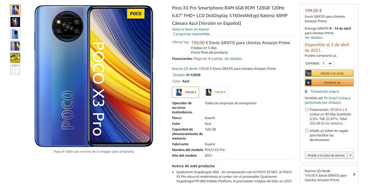 comprar poco x3 pro en oferta de lanzamiento amazon. Noticias Xiaomi Adictos