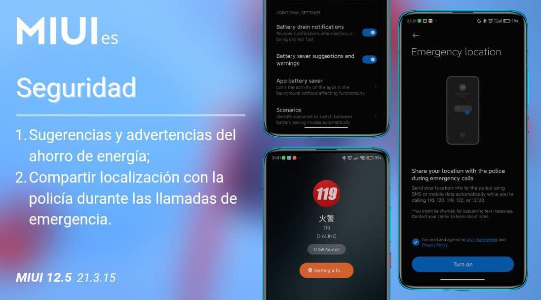 Xiaomi añade nuevas opciones a MIUI que podrían salvarte la vida. Noticias Xiaomi Adictos